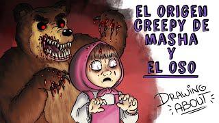 EL ORIGEN CREEPY DË MASHA Y EL OSO | Draw My Life