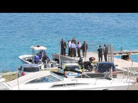 Police On Scene In St Davids Bermuda Mar 19 2012