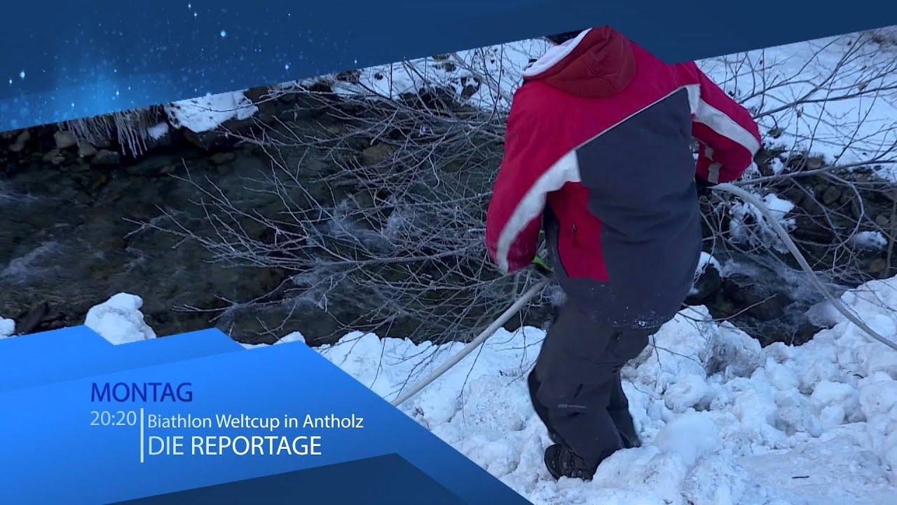 BIATHLON ANTHOLZ, TV–Reportage über den Biathlon Weltcup, RAI Südtirol 2016