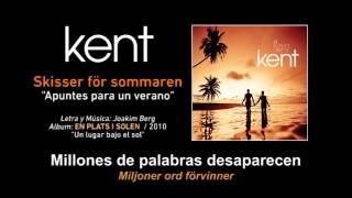 "KENT — ""Skisser för sommaren"" (Subtítulos Español - Sueco)"