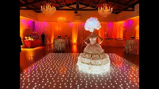 Champagne Skirt by Live Tables Entertainment at Coral Gables