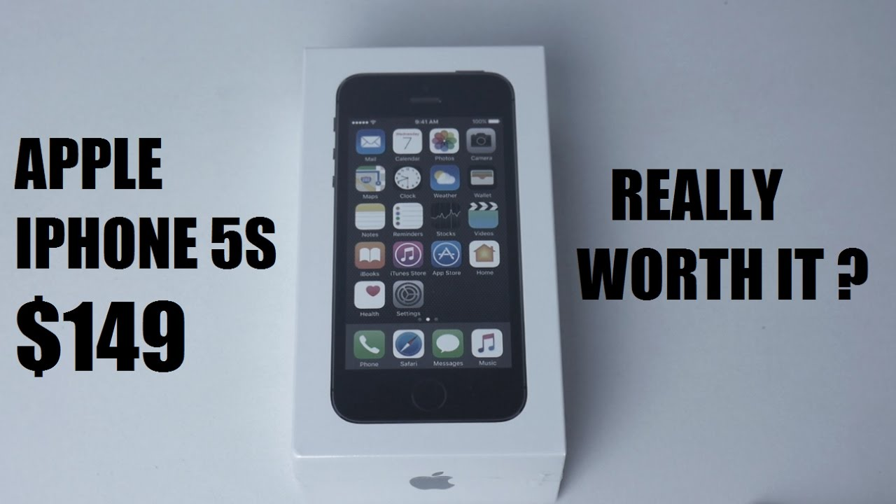 Straight Talk iPhone 5S $149 Unboxing and My Thoughts