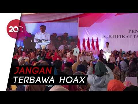 Jokowi: Saya Buat Perpres Hari Santri Kok Dibilang Anti Islam?