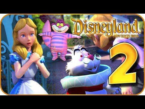 Disneyland Adventures Walkthrough Part 2 (PC, X360, XB1) ~ Alice In Wonderland ~