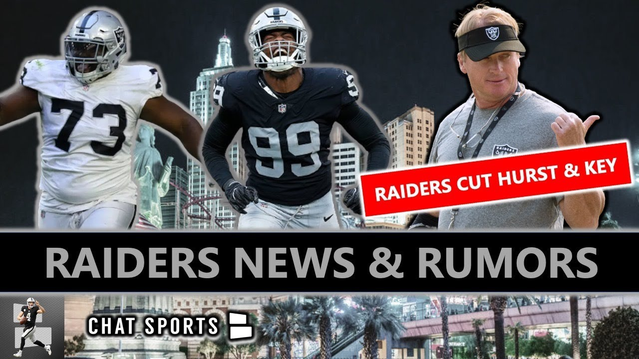 BREAKING: Raiders CUT Maurice Hurst & Arden Key + NFL Draft Rumors On Micah Parsons & DeVonta Smith