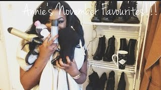 NOVEMBER '14 FAVOURITES | AnnieDreaXO Thumbnail