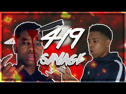 "AFRICAN KID COVERS  ""BANK ACCOUNT"" - 21 SAVAGE"