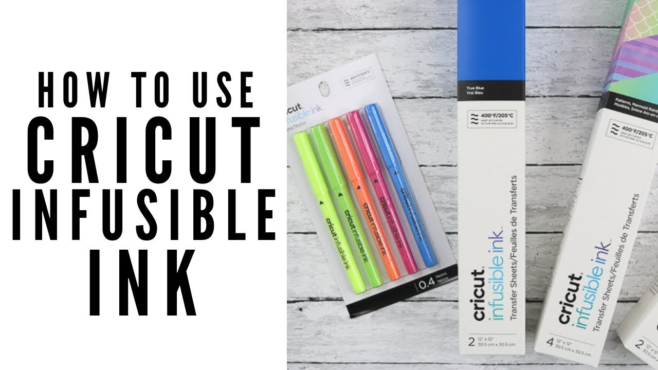 Complete Guide To Cricut Infusible Ink