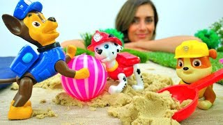 Paw Patrol Spiel: wir spielen am Strand!