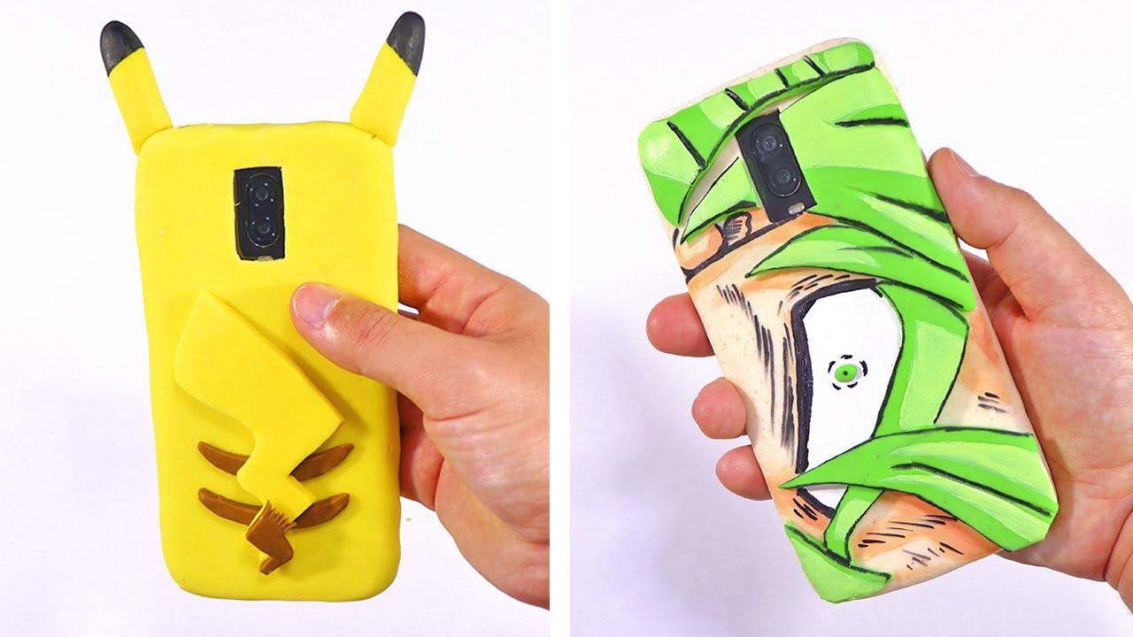 Cómo hacer fundas caseras para celular/móvil (con materiales simples y baratos) | FÁCIL | Fundas 3D