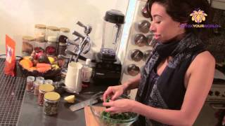 Incan Berries Recipe - Incan Berry and Kale Salad