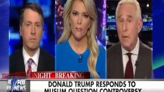 Fox: Roger Stone Destroys Megyn Kelly & Rich Lowry Over Obama Background