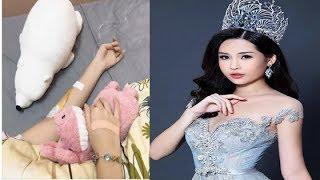 Hoa hậu Đại dương Lê Âu Ngân Anh nhập viện sau đề nghị tước vương miện từ Cục NTBD