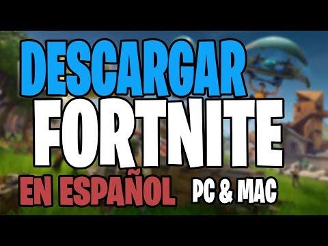 Como DESCARGAR FORTNITE BATTLE ROYALE Para PC 2019 Windows 7, 8 Y 10 EN ESPAÑOL