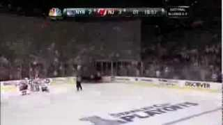 NHL: Adam Henrique OT Goal Against NY Rangers [4/25/2012] Game 6