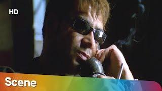 Ajay Devgan Threatens Amitabh Bachchan Scene - Khakee - Superhit Bollywood Movie