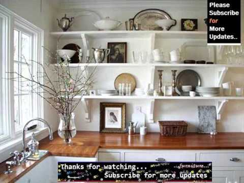 Country Kitchen Shelving Ideas Youtube
