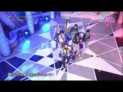 140222 Music Dragon BoA   Shout It Out + Talk  wjx