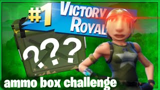 The *RANDOM* AMMO Box Challenge.....but it's actually good