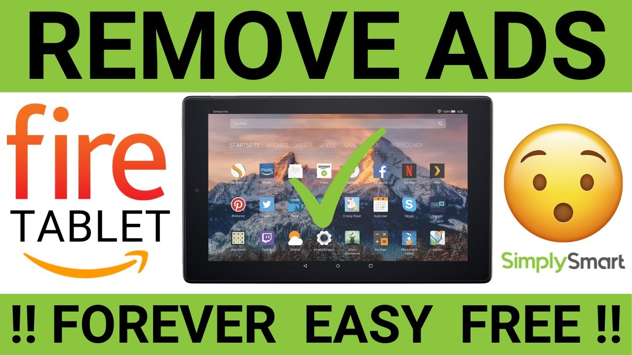 Remove Amazon Fire Tablet Ads Forever This Works Free And Easy 2021 Youtube