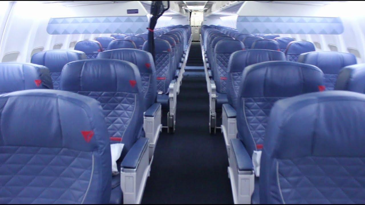 Delta 737 700 Cabin Tour Comfort Youtube