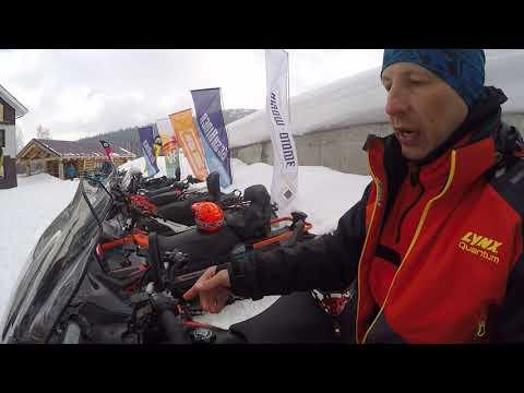 ШЕРЕГЕШ 2019 . Сноуборд, тест драйв новых снегоходов BRP  Ski-Doo Lynx 2020 модельного года .