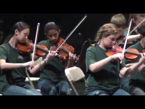 Creekwood Middle School - American Classic Concert at Dallas, Texas