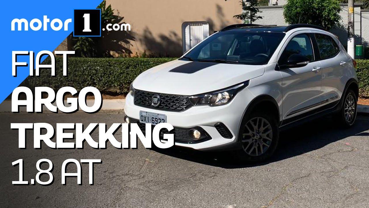 Fiat Argo Trekking 1.8 automático 2020: avaliação completa