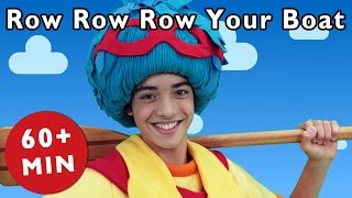 Row Row Row Your Boat and More | Nursery Rhymes from Mother Goose Club!