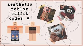 Roblox Outfit Codes Aesthetic By Stxrliqht