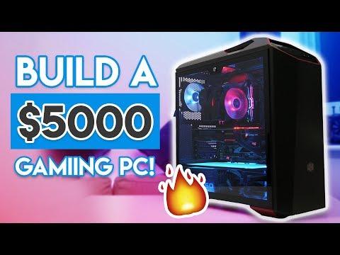 EPIC 16-CORE $5000 GAMING PC BUILD 2018! [Threadripper & Vega 64!]