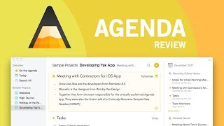 Agenda for Mac | Evernote Challenger?! 😮