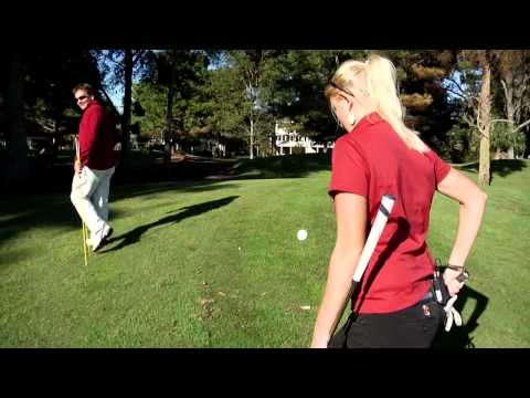 Leigh Whittaker -- College of Charleston Cougars Golf Team -- Golf Swing