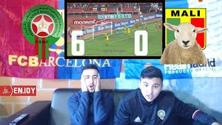 MOROCCO DESTROYED MALI WITH 6-0 - Highlights REACTION