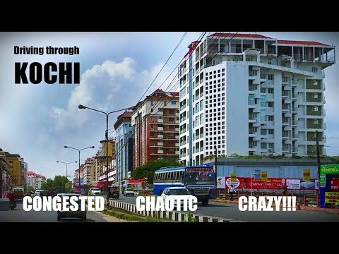 Driving through the chaotic roads of Kochi | Absolutely crazy