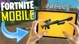 FAST MOBILE BUILDER on iOS / 280+ Wins / Fortnite Mobile + Tips & Tricks!