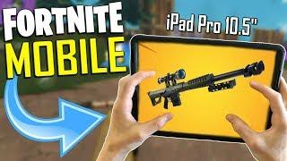 FAST MOBILE BUILDER on iOS / 275+ Wins / Fortnite Mobile + Tips & Tricks!