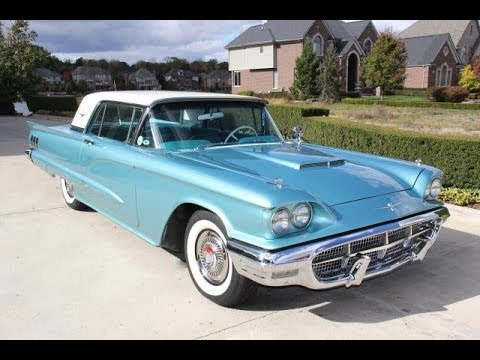 1960 Ford Thunderbird Test Drive Clic Muscle Car For In Mi Vanguard Motor S You