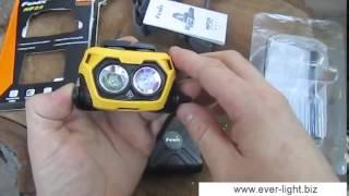 Распаковка и видеообзор налобного фонаря Fenix HP25