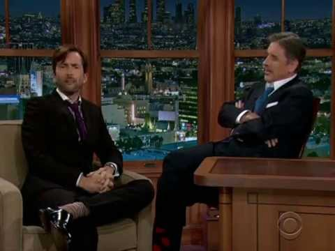 David Tennant on Craig Ferguson, full interview - YouTube