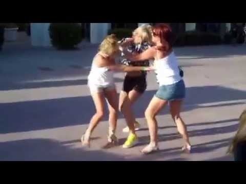Girl Fight - Let Go Of My Tit! - YouTube