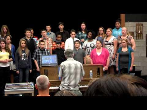SMS Choir Africa (Sutherlin Middle School - Sutherlin, Oregon  - Solo by Haley Taddei)