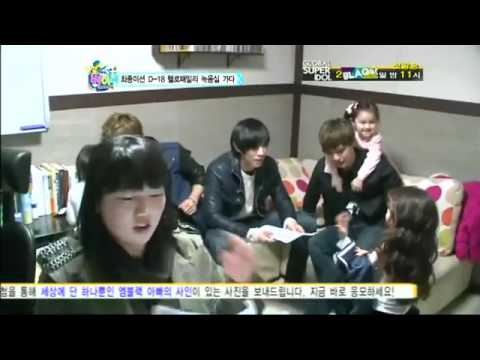 MBLAQ Hello Baby Ep 9 Cut - Dayoung & Mir Appa Cute Moments
