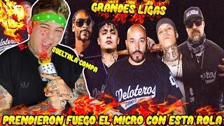 REACCION Grandes Ligas Lupillo Rivera, Alemán, Santa Fe Clan feat  Snoop Dogg, B Real