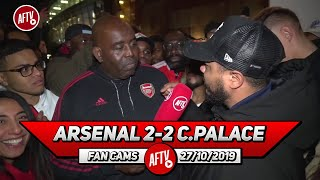 Arsenal 2-2 Crystal Palace | EMERY OUT! He's Not Good Enough!! (Troopz Very Angry Rant)