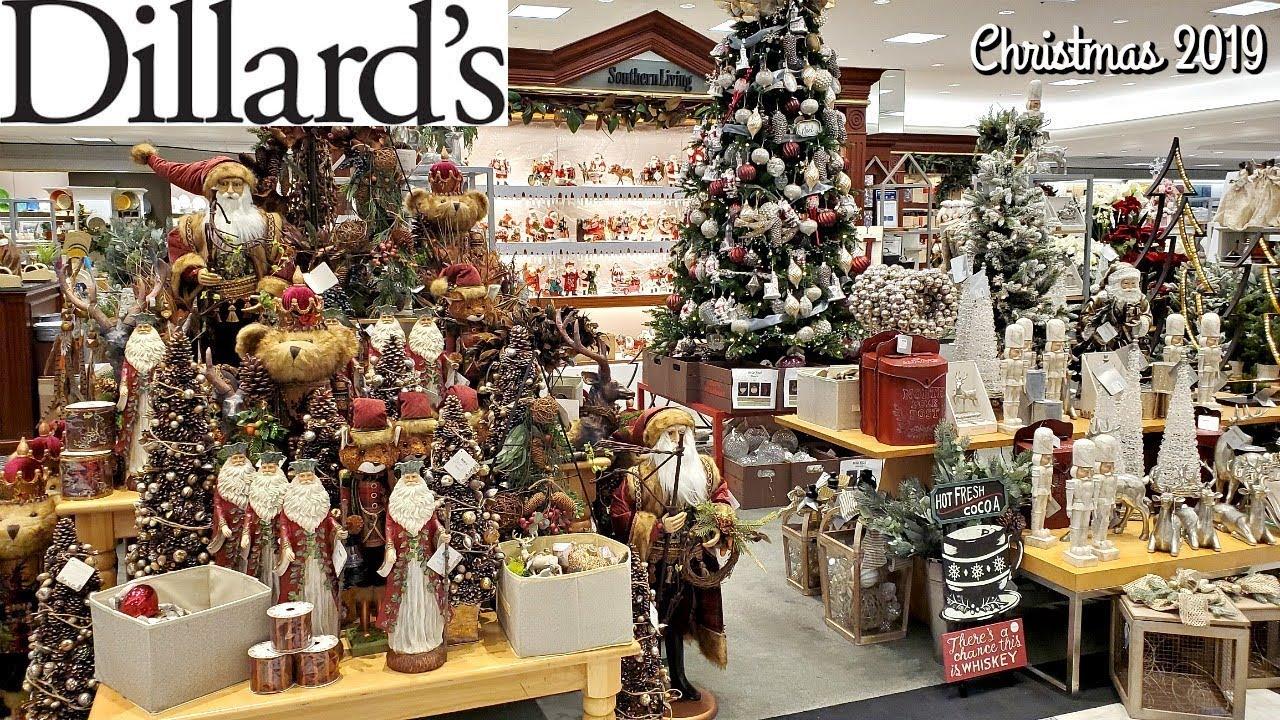 Dillards Christmas 2020 DILLARDS CHRISTMAS DECOR 2019 * SHOP WITH ME *   YouTube