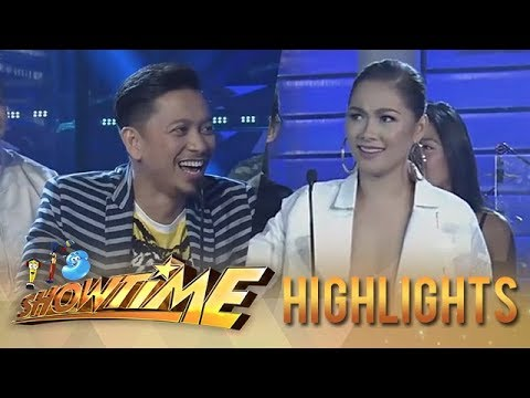 It's Showtime PUROKatatawanan: Maja and Jhong share their jokes