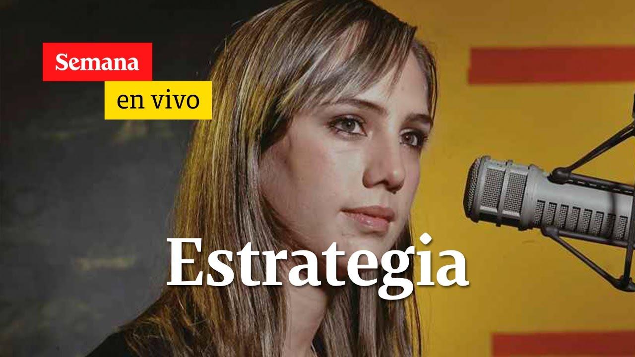 Camila Zuluaga, se refiere al comunicado de la esposa de Uribe como una estrategia| Semana en vivo