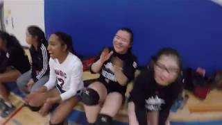 ROAD TO OFSAA: FMM 2016-2017 Sr. Girls Volleyball TEASER [Commentary by Koko]