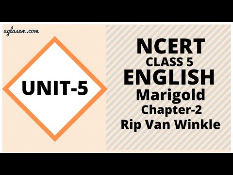 NCERT Solutions Class 5 English Unit 5 Chapter 2 Rip Van Winkle